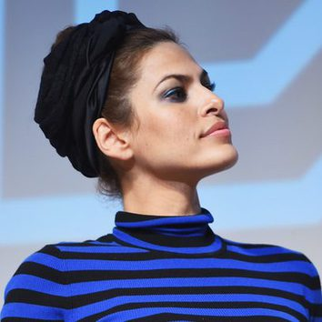 Eva Mendes y su amor por los turbantes