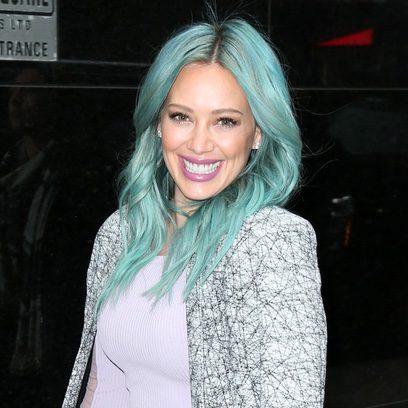 Hilary Duff, del rubio al color verde