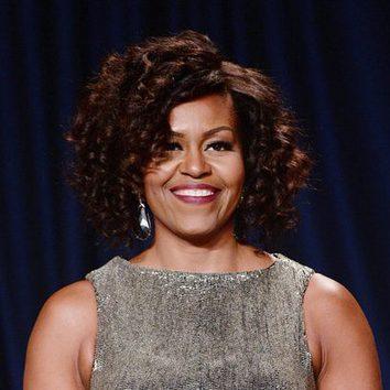 Michelle Obama apuesta por los rizos