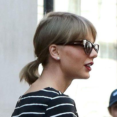 Taylor Swift y su mini coleta
