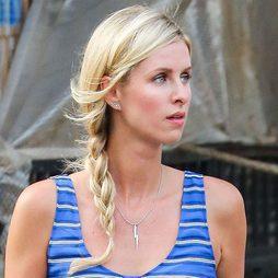 Nicky Hilton, una recién casada con trenza