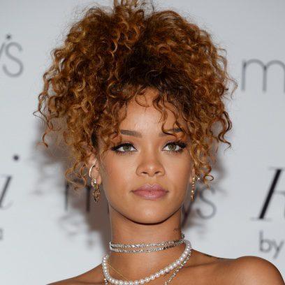 Rihanna, una mirada felina