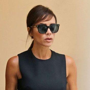 El nuevo flequillo de Victoria Beckham