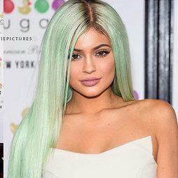 Kylie Jenner apuesta por el verde