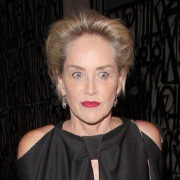 Sharon Stone y su frente despejada