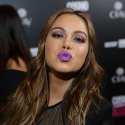 Los labios morados de Chiquis