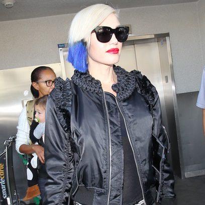 Gwen Stefani, una moderna 'midi' azul