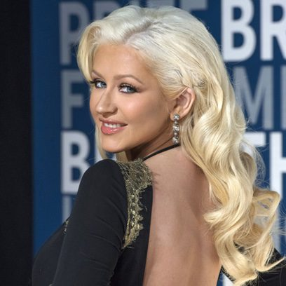 Christina Aguilera, mirada brillante