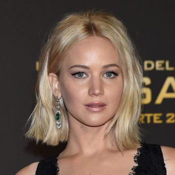 Jennifer Lawrence, un peinado desaliñado