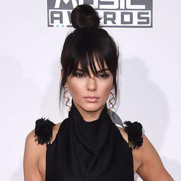Kendall Jenner apuesta por el falso flequillo