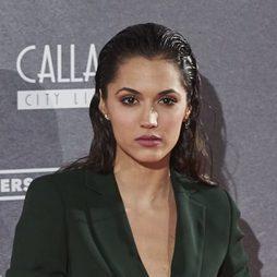 Michelle Calvó acierta con su efecto mojado