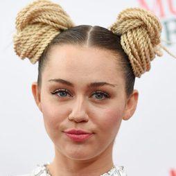 Miley Cyrus, al estilo Leia de 'Star Wars'