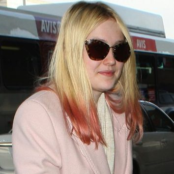 Dakota Fanning y su ombré hair