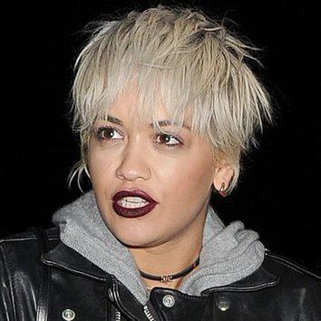 Rita Ora corta su melena por lo sano