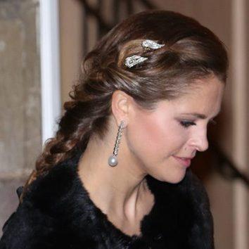 La trenza de la Princesa Magdalena de Suecia