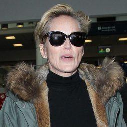 Sharon Stone, su imagen más desmejorada