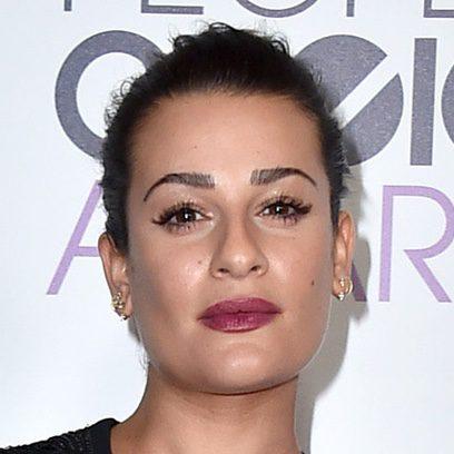 Lea Michele resalta su mirada sin acierto