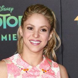 Shakira, una coleta informal para un estreno