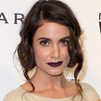 Nikki Reed rezuma belleza con su maquillaje dark