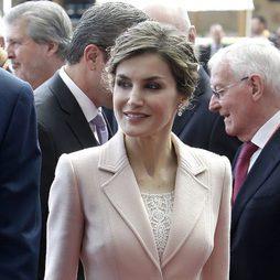 La mirada apagada de la Reina Letizia