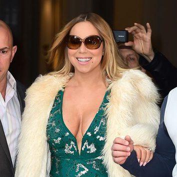 Mariah Carey, una diva con el pelo lacio