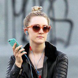 El moño casero de Saoirse Ronan