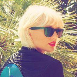 La melena Coachella de Taylor Swift