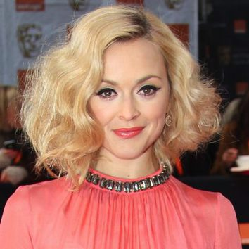 Fearne Cotton con extra de volumen