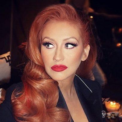 Christina Aguilera es Jessica Rabbit