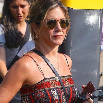 Jennifer Aniston y su bronceado