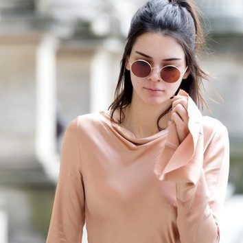Kendall Jenner... ¿sin maquillaje?