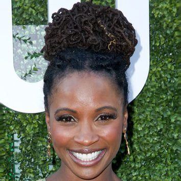 Shanola Hampton y su moño trenzado en Hollywood