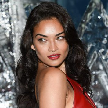 Shanina Shaik deslumbra con labios ombré