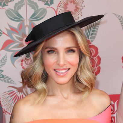 Elsa Pataky luce un sombrero negro en Sidney