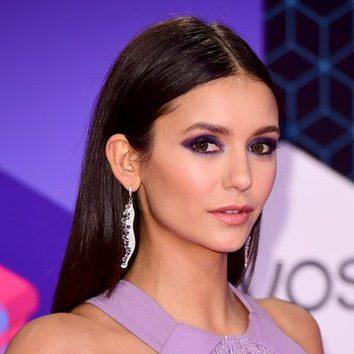 Nina Dobrev combina su makeup con su outfit