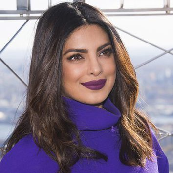 Priyanka Chopra de morado en Nueva York