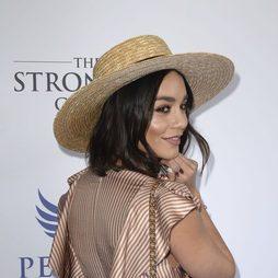Vanessa Hudgens y su sombrero de paja