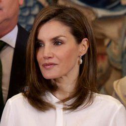 La Reina Letizia y su maquillaje luminoso