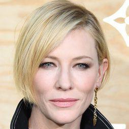 Cate Blanchett opta por un maquillaje total nude