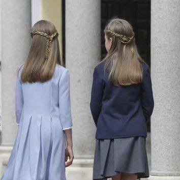 Las Princesitas apuestan por los peinados con trenzas
