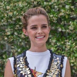 Emma Watson, muy natural