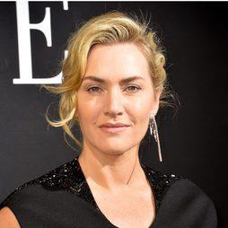 Kate Winslet con un look apagado