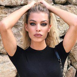 Jessica Goicoechea, de escándalo con maquillaje smokey eye