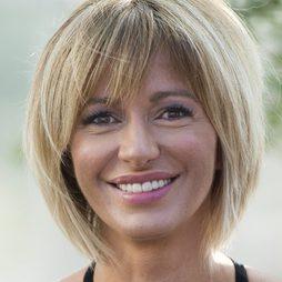 Susanna Griso, increíble con un maquillaje en tonos rosados