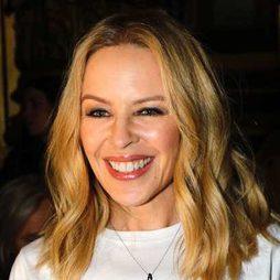 Los brillos de Kylie Minogue