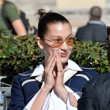 Bella Hadid al natural