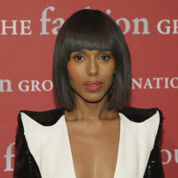 El flequillo de Kerry Washington