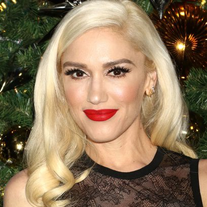 Gwen Stefani con exceso de make up