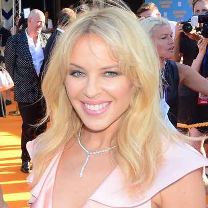 Kylie Minogue, más natural que nunca