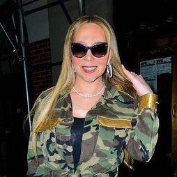 Mariah Carey se chamusca la cara